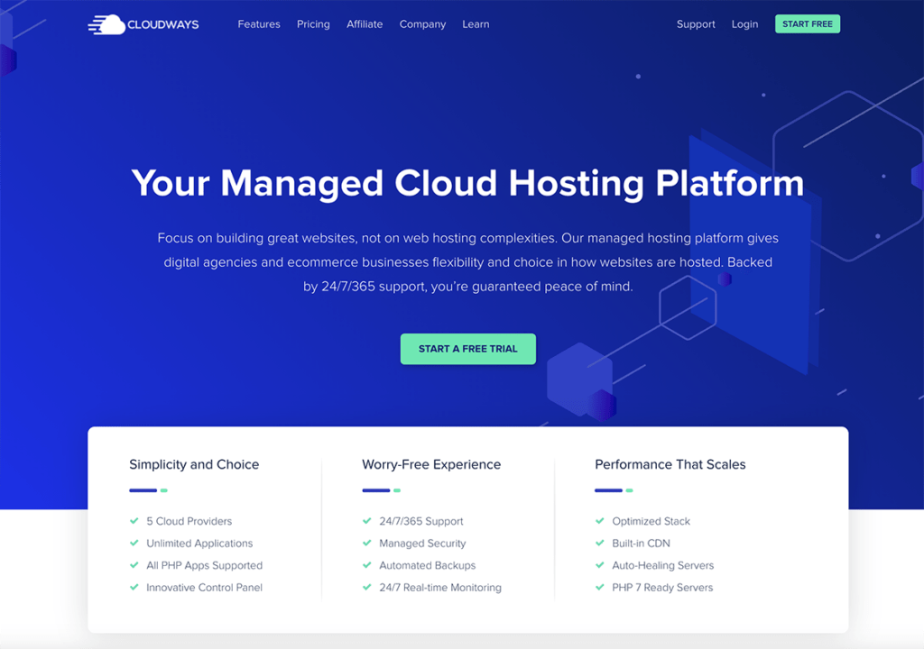 Cloudways Monthly hosting 2020