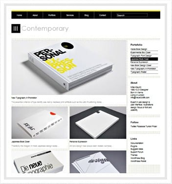 Contemporary Theme WordPress Free