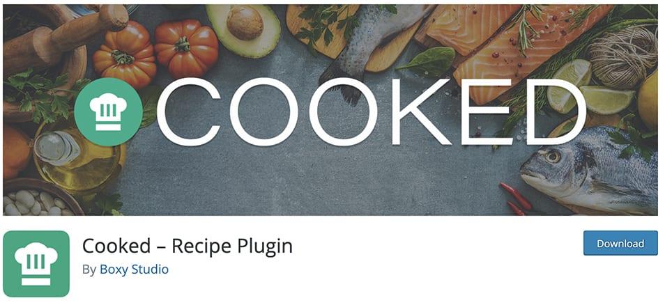 Cooked – Recipe Plugin