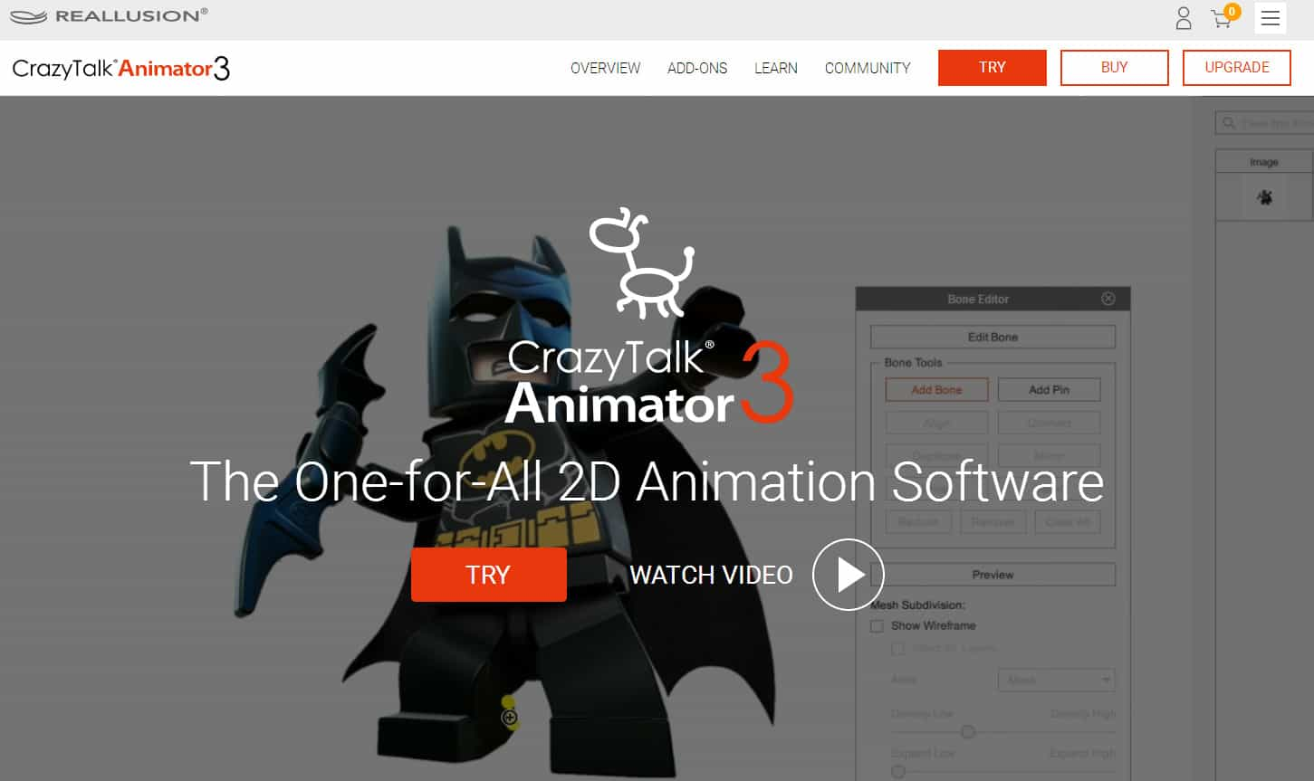 Crazytalk animator cta is the worlds easiest 2d animation software that enables all levels of users to create professional animations with the least