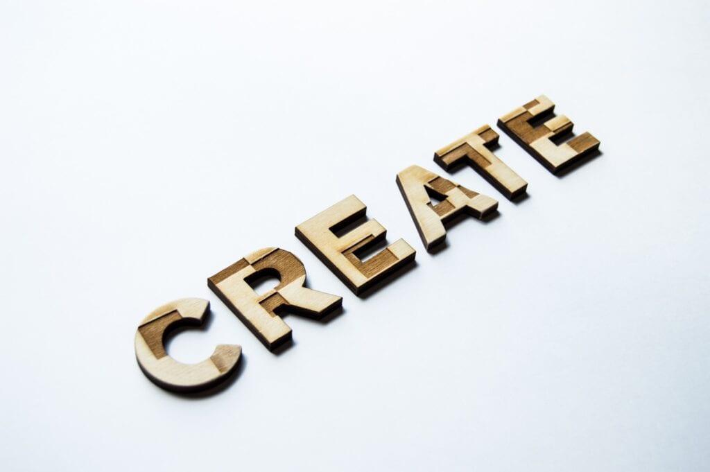 create typography