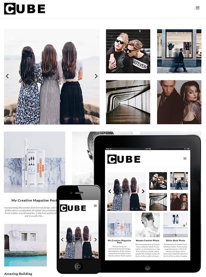cube theme