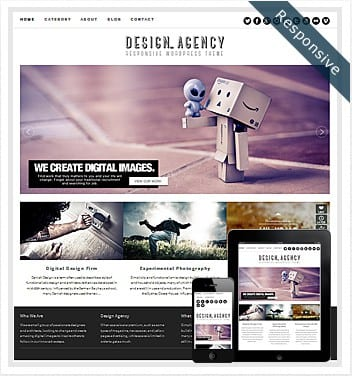 premium wordpress templates - design-agency-responsive-theme