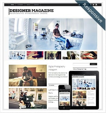 premium wordpress templates - designer-magazine-wordpress