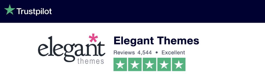 Divi Review TrustPilot 5/5 Stars 2020