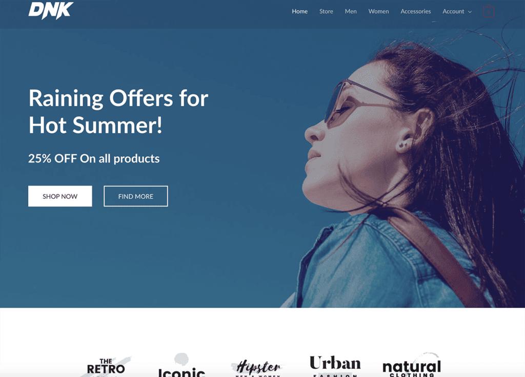 fashion online shop
