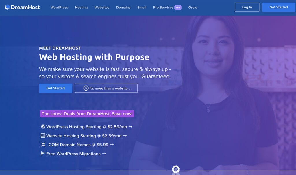 DreamHost Review best WordPress Hosting