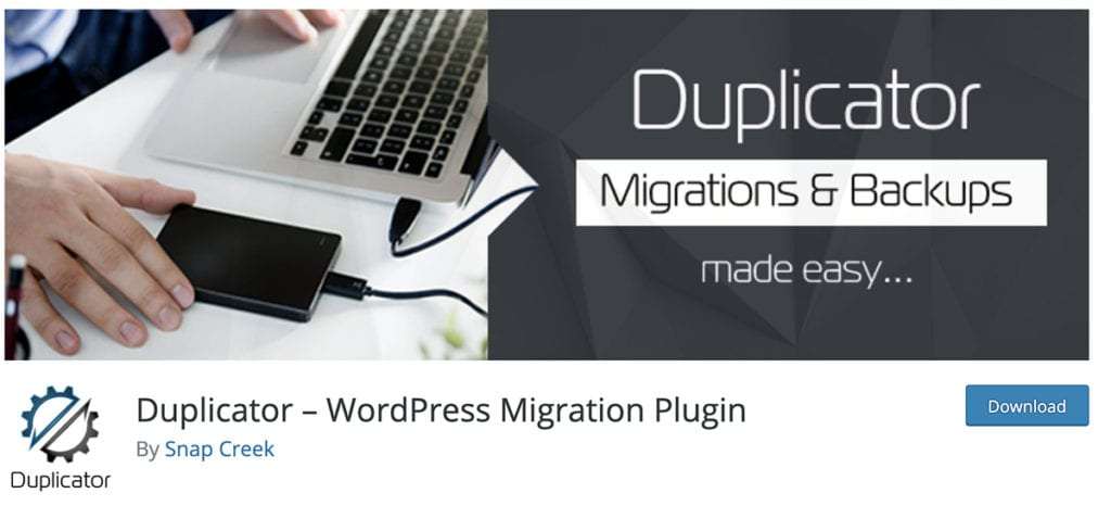 Duplicator – WordPress Migration Plugin