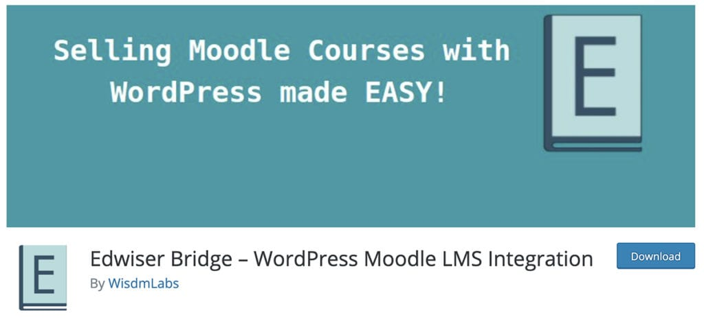 Edwiser Bridge - Intégration WordPress Moodle LMS