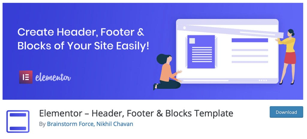 Elementor – Header, Footer & Blocks Template