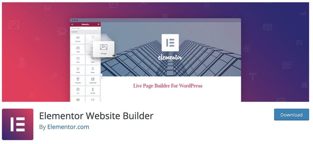 Créateur de site Web Elementor
