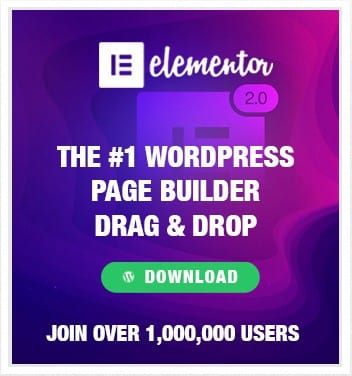 Free Elementor WordPress Drag & Drop