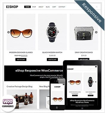 premium wordpress templates - eshop-woocommerce-responsive