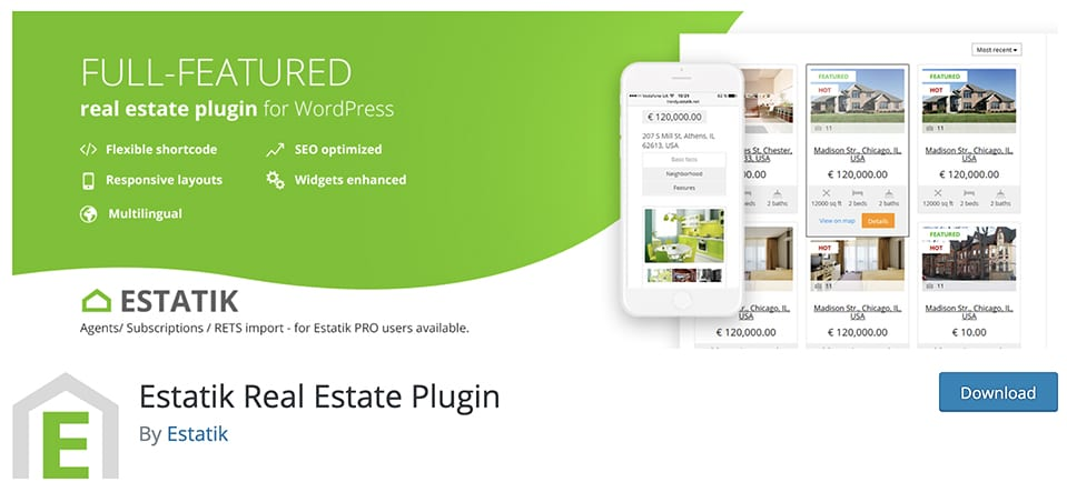 9 Best Free Real Estate WordPress Plugins (Expert Pick 2021)