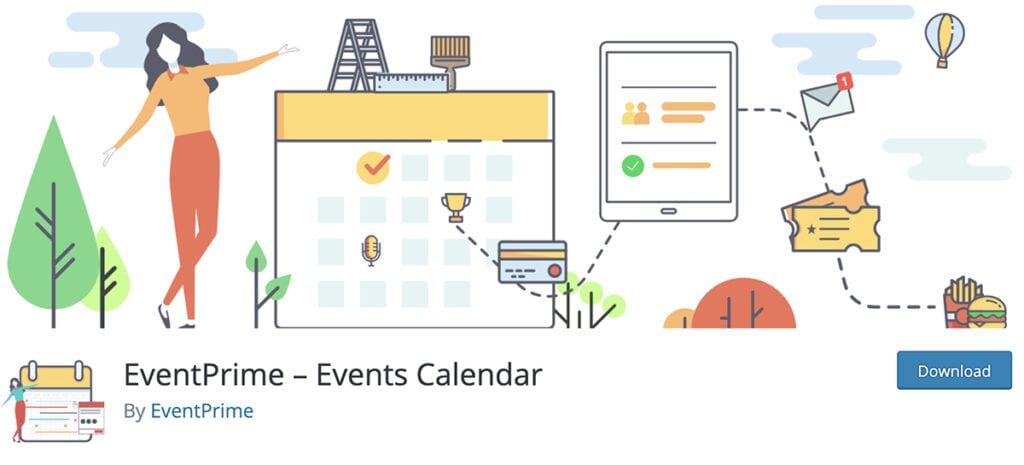 EventPrime – Events Calendar
