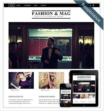 premium wordpress templates - fashion-magazine-responsive-wordpress