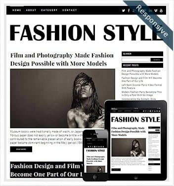 Free Fashion Theme WordPress -2019