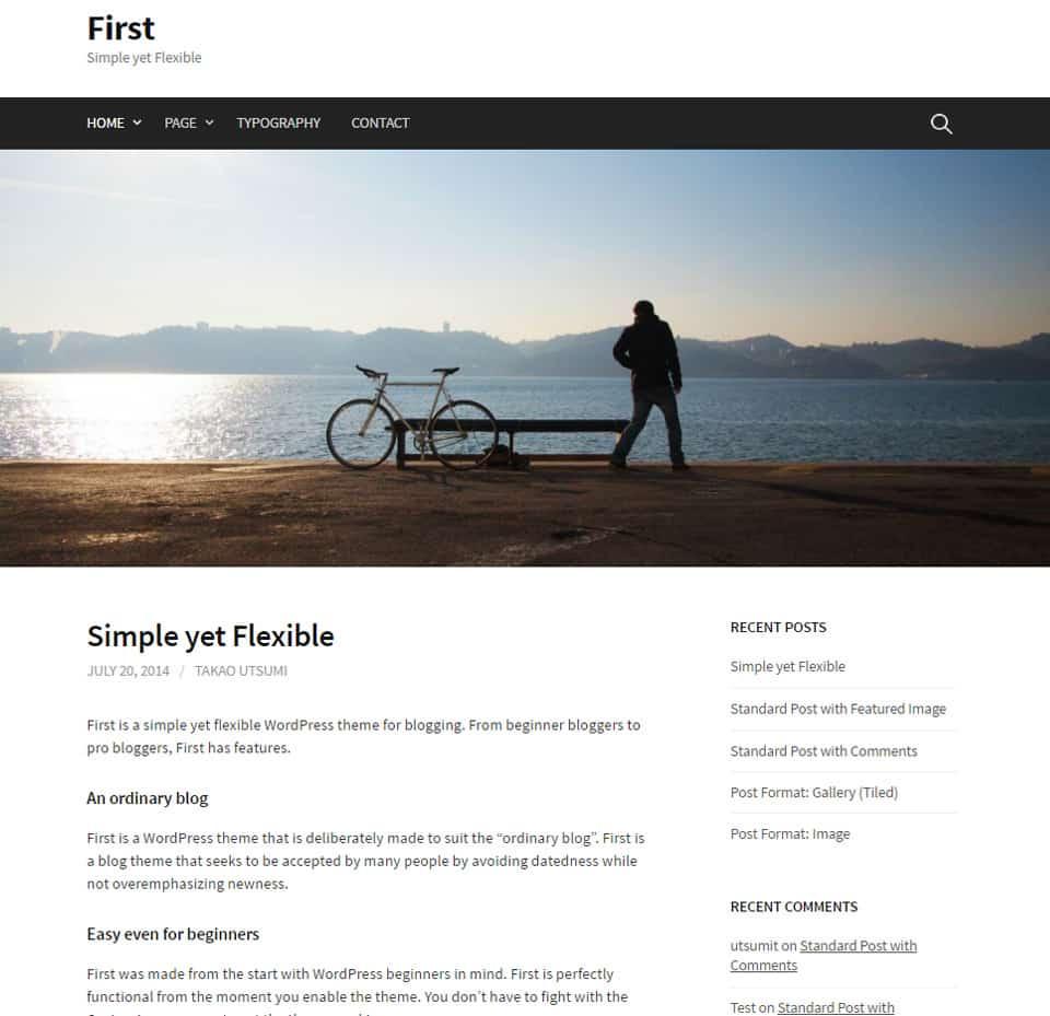 20+ Free Simple, Clean & Minimalist Themes (WordPress 2018)