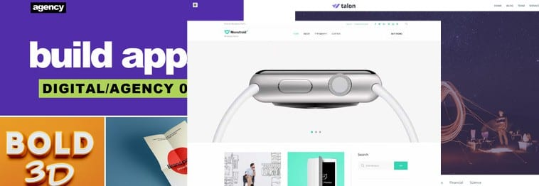 20+ Best Free Flat Design WordPress Themes 2018