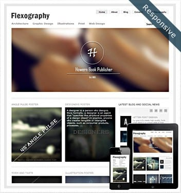 premium wordpress templates - flexography-theme-responsive