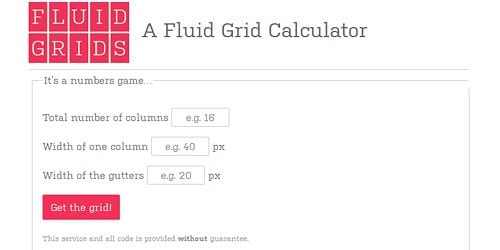fluid-grid-calculator