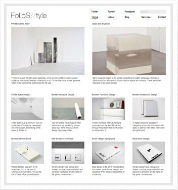 premium wordpress templates - folio-style-theme