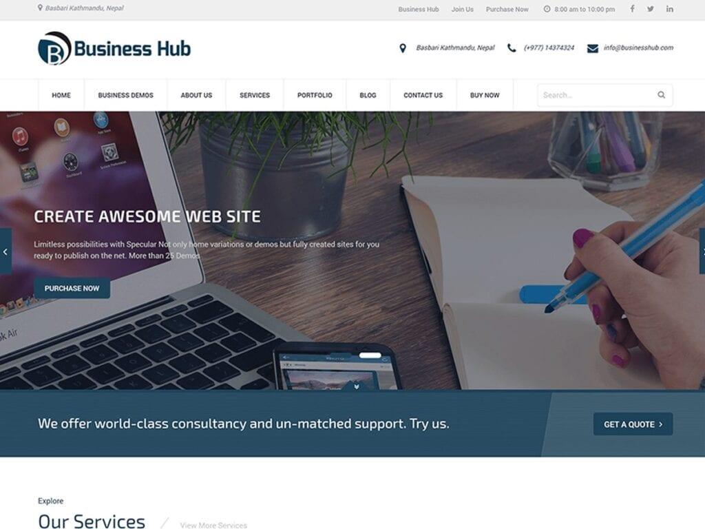 Best Free WordPress Business Themes