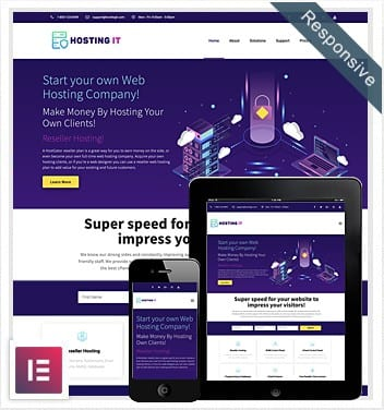 Best Free Hosting Template for Elementor (UPDATED 2020)