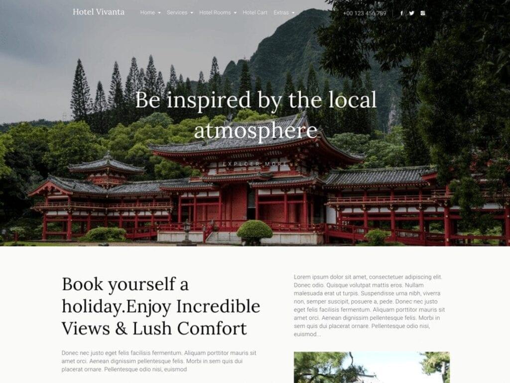 Best Free Hotel WordPress Themes