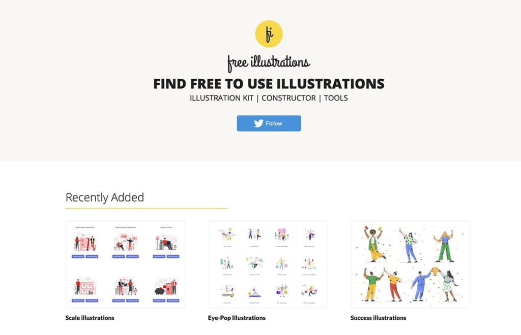 Free Illustrations Sites - Find Free Illustrations & Vectors