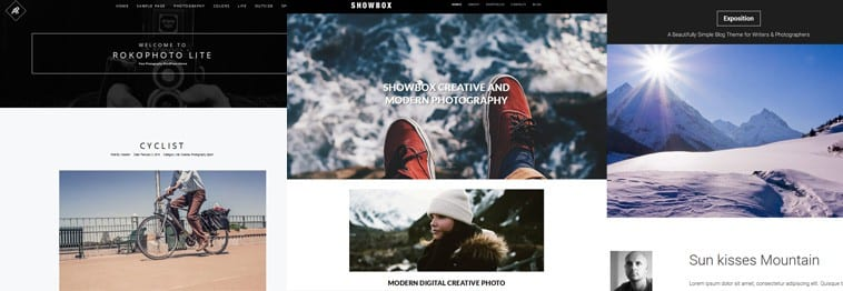 25+ Best Free Photography & Photo WordPress Themes – 2019