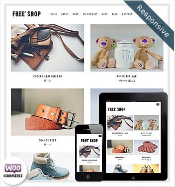 WooCommerce Free Shop WordPress Theme