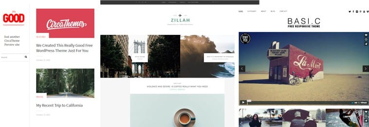 20+ Free Simple, Clean & Minimalist WordPress Themes 2019