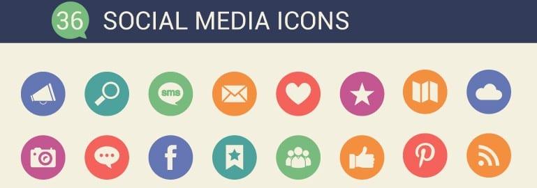 free-social-icons-design
