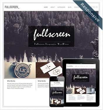 premium wordpress templates - fullscreen-theme-wordpress