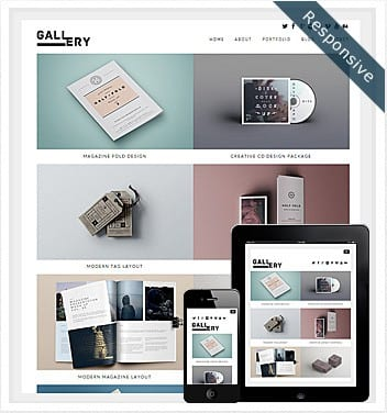 Free Gallery Theme WordPress 2019