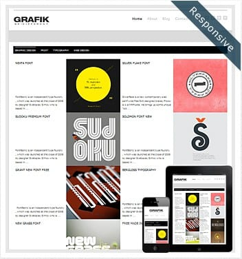 premium wordpress templates - grafik-wordpress-theme