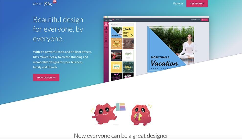 klex free online design software