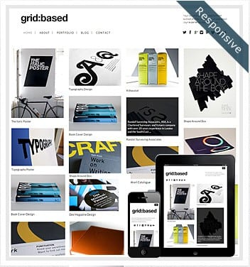 premium wordpress templates - grid-based-theme