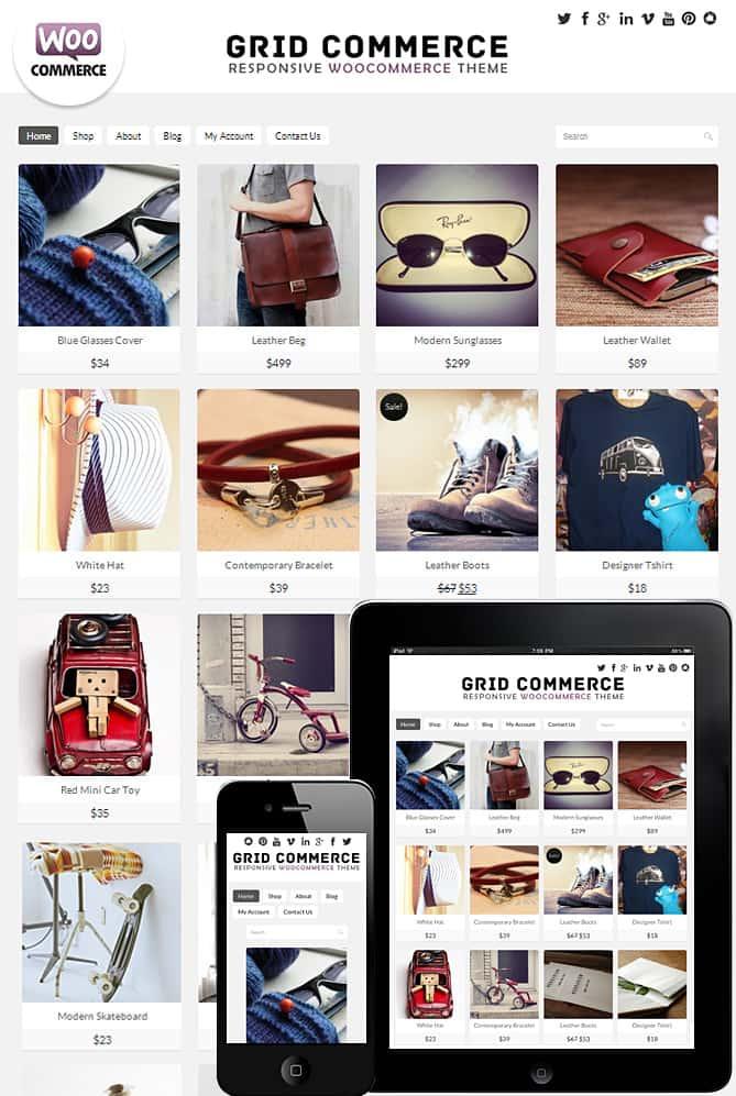 Grid Commerce WooCommerce Theme - Best WordPress Themes for ...