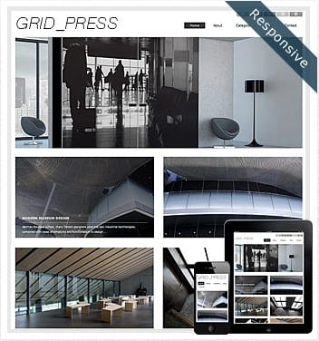 premium wordpress templates - grid-press-theme