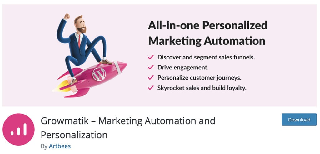Growmatik – Marketing Automation and Personalization