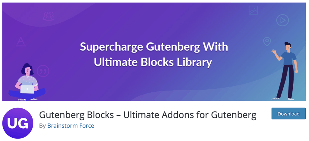 Gutenberg Blocks WordPress Plugin 2020