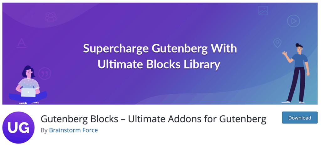 Gutenberg Blocks WordPress Plugin 2020