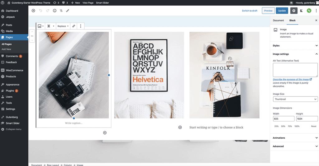 Gutenberg Starter WordPress Theme 2020
