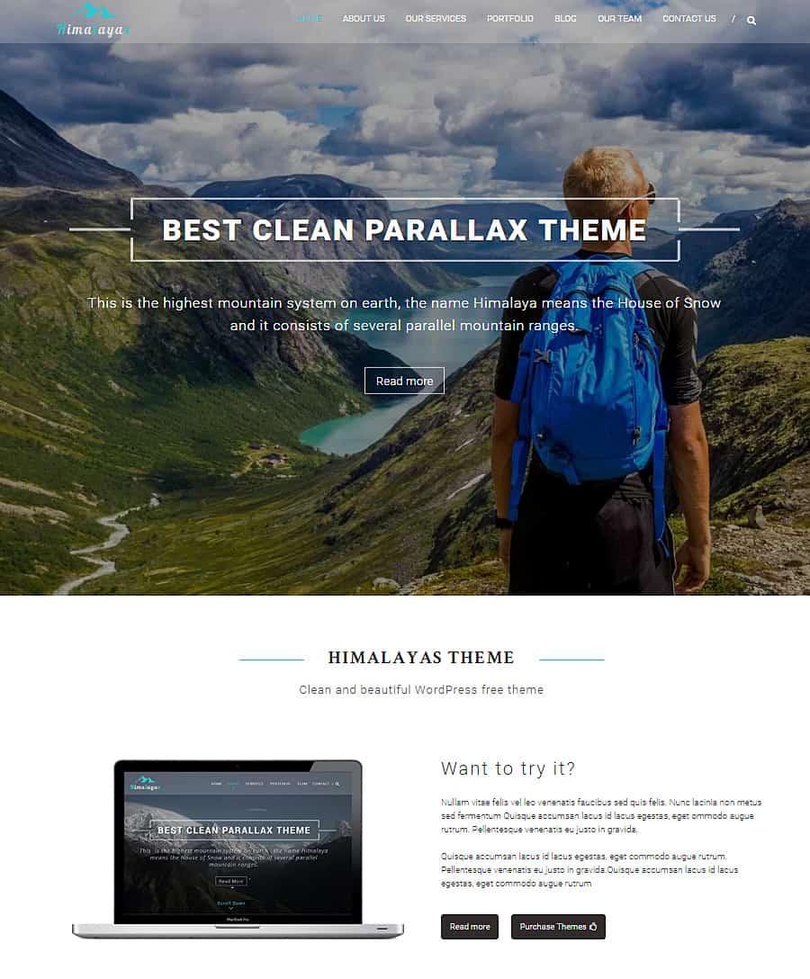 Wordpress: 20+ Best Parallax Scrolling WordPress Themes 2018