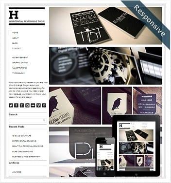 horizontal-grid-wordpress