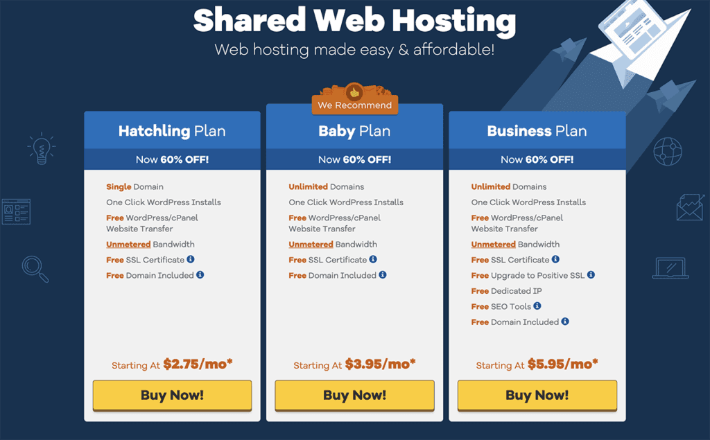 HostGator Share Web Hosting