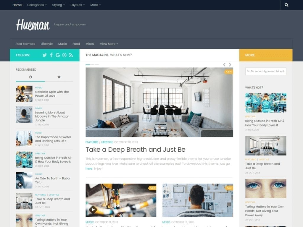 67 Best Free Wordpress Blog Themes Updated 2020,Simple Kitchen Pantry Designs Pictures