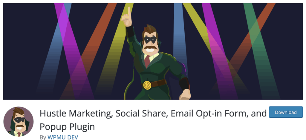 Hustle Marketing, Social Share, Email Opt-in Form, and Popup Plugin